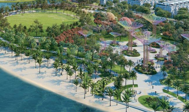 Vinhome Grand Park mang tới chuỗi công viên liên hoàn độc đáo